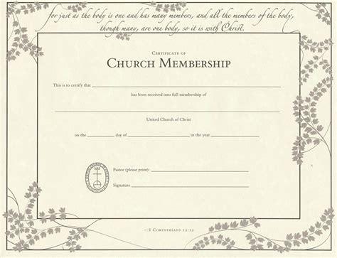 Free Church Membership Certificate Template Mangdienthoai Com Free Church Templates