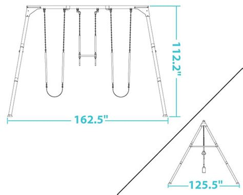 dimensions of a swing set index of storage sheds images