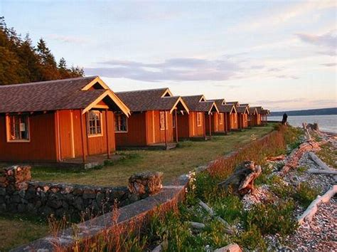 Island Cing Cabins by Cama State Park Pacific Northwest A List