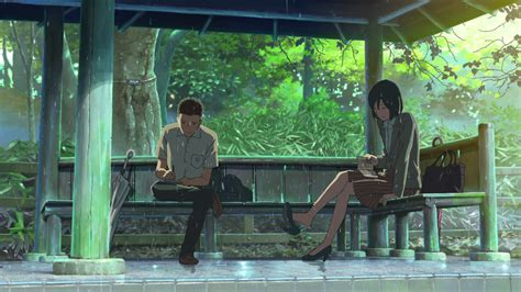 Garden Of Words 2 by The Most Beautiful Visuals In An Anime Anime