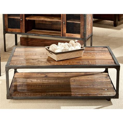 emerald home t100 0 chandler cocktail table emerald home laramie rectangular rustic brown reclaimed