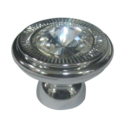 swarovski crystal cabinet knobs buy crystal with chrome finish cabinet knob online in