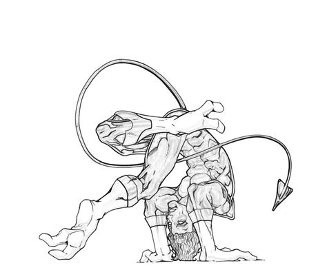 Nightcrawler Coloring Pages Nightcrawler Coloring Pages