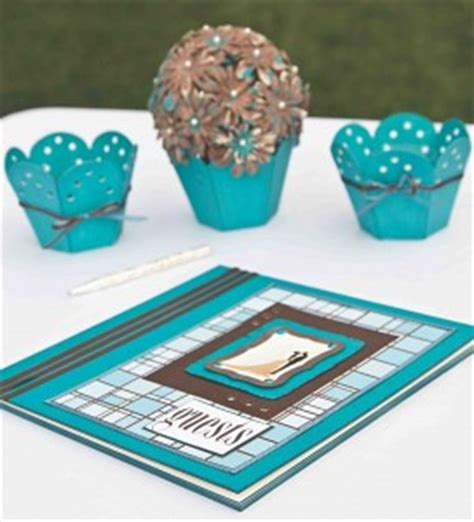 turquoise and brown wedding decorations favecrafts