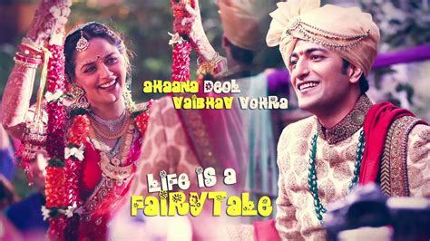 Wedding Story by The Wedding Story Is A Fairytale Ahaana Vaibhav