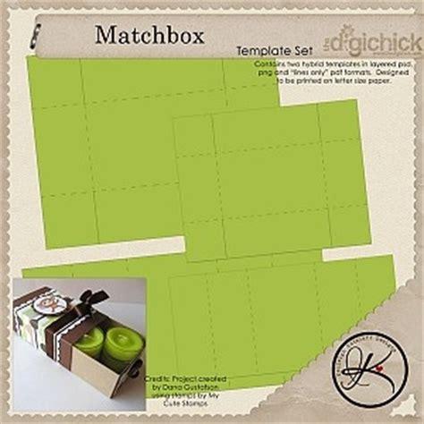 Matchbox Card Template by 1000 Ideas About Matchbox Template On