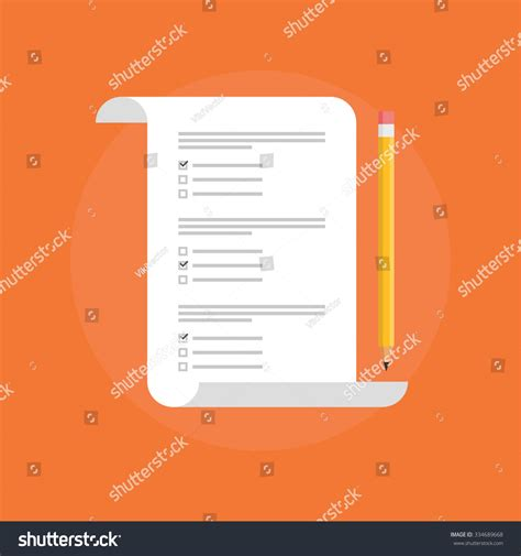 concept test test vector icon isolated concept stock vector
