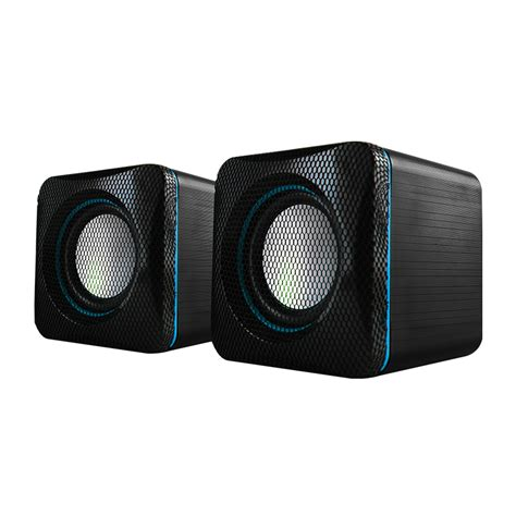 Speaker Alcatroz Portable X Audio 2 1 Reflect Bass Biru u cube usb powered 2 0 speakers personal audio