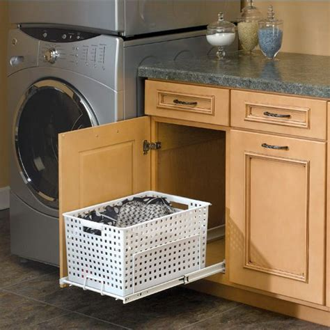 Rev A Shelf Pull Out Laundry Her And Utility Basket For Slide Out Laundry
