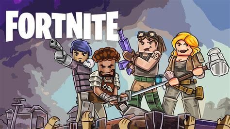 fortnite like minecraft minecraft fortnite best players in the world battle