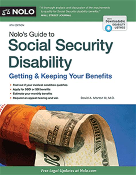 nolo s guide to social security disability book nolo