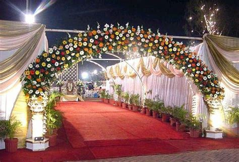 Wedding Snaps: Wedding Gate Decoration