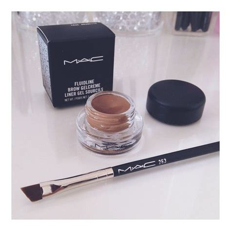 Mac Brow Gel eyebrow just got stronger mac263 brush mac