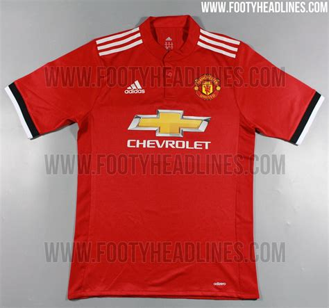 United Home by Even More Pictures Manchester United 17 18 Home Kit