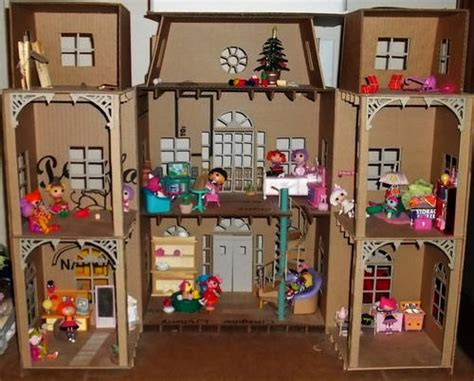 kids craft doll houses doll house made entirely of cardboard part 1 paper crafts scrapbooking atcs