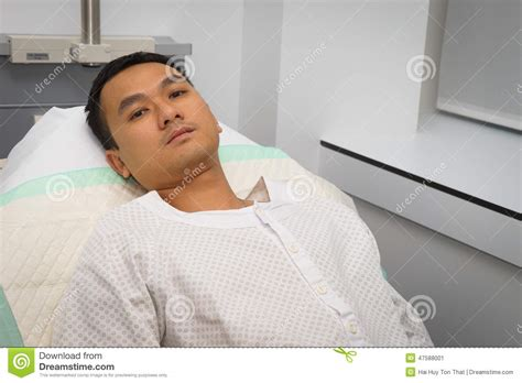 guy in hospital bed man in hospital bed stock photo image 47588001