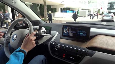 bmw inside view bmw i3 kiihtyvyys ajoa acceleration inside view