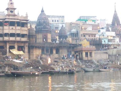 Much Ado About Us The Ganges River Varanasi India