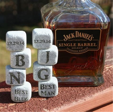How Much Should You Spend On A Wedding Gift Personalized Whiskey Stones 69 Unique And Cool Groomsmen