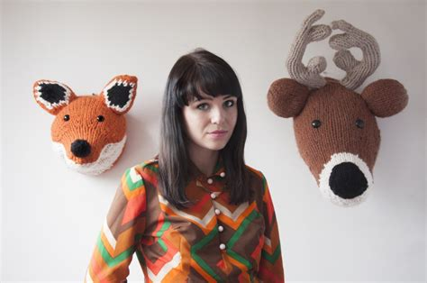 Throphy Heads And Other Wild Knitting Pattern Louise