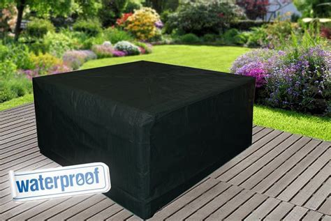 protective rattan weave garden furniture cover