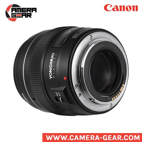 Lensa Yongnuo 100mm Yn100mm F2 For Dslr Canon yongnuo 100mm f2 yongnuo prime lens for canon dslr