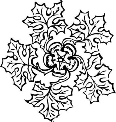 Junjung Drajat Hitam Simetris image clipart d 233 coration feuille vector clipart vecteur