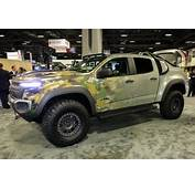 GM Resurrects The Fuel Cell For Chevrolet Colorado ZH2