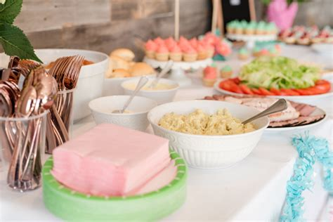 What To Serve In A Baby Shower by Throw A Baby Shower And Decorate With Your Cricut