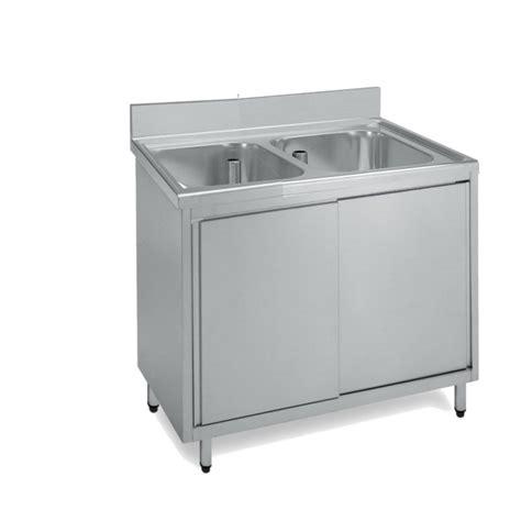 vasche acciaio inox lavatoio acciaio inox armadiato due vasche