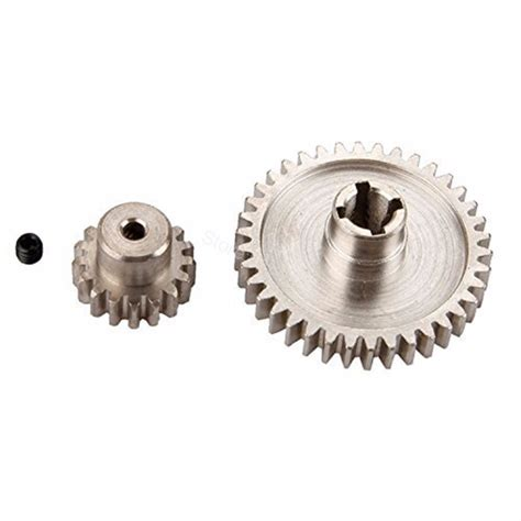 Ekslusive Motor Pinion A949 A959 A969 A979 A949 32 Best Seller 2pcs metal wltoys a959 steel diff gear 38t motor pinion gear 17t for 1 18 electric buggy
