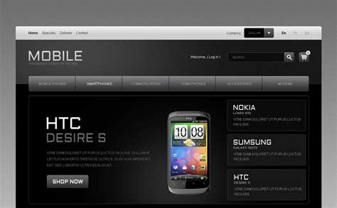 mobile themes prestashop mobile phones prestashop theme 41480