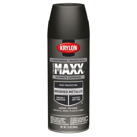 shop krylon bronze metallic enamel spray paint actual net contents 12 oz at lowes