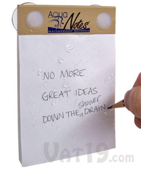 aquanotes the waterproof notepad