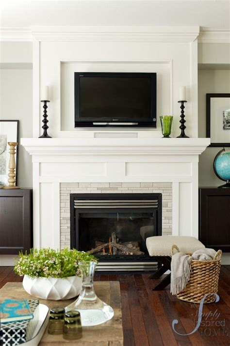 25 best ideas about white mantel on mantel