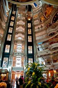 cruise ship interiors to enjoy the nautical journey