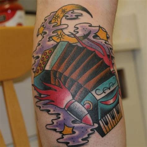 accordion tattoo fresh accordion space ship by william jackman at