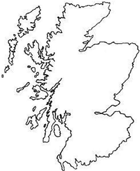 Scottish Outline by Scotland Outline Stencil Flower Of Scotland