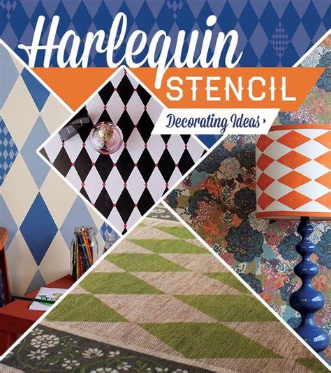 drawing harlequin pattern 5 harlequin diamond pattern stencil ideas for diy decorating