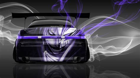 ita toyota toyota mark2 jzx90 jdm anime aerography smoke car