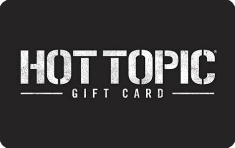 Hot Topic Gift Card Walmart - gift card site images usseek com