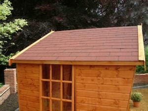 Shed Roofing Felt Tiles by Garden Summer Houses And Summer House Sheds Supplier