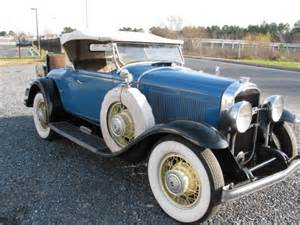 1931 Buick For Sale 1931 Buick Series 60 Roadster Only 1 050