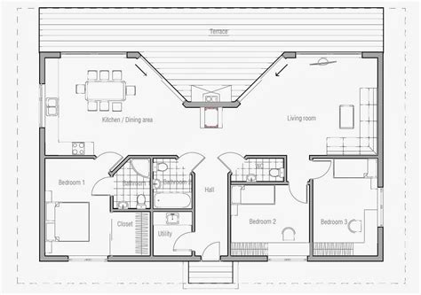 australian house plan australian house plans small australian house plan ch61