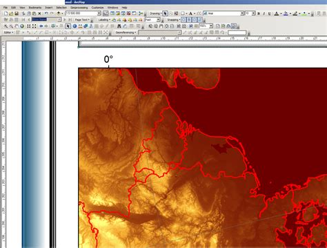 fix layout arcgis reduced resolution when exporing raster with layout view