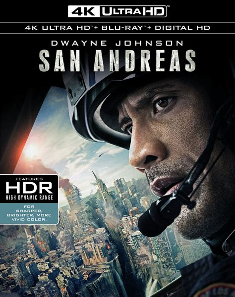 film blu ray uhd san andreas dvd release date october 13 2015