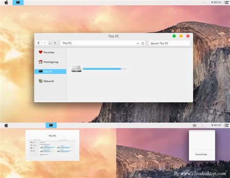 os x themes for windows 8 1 os x yosemite theme windows 8 1