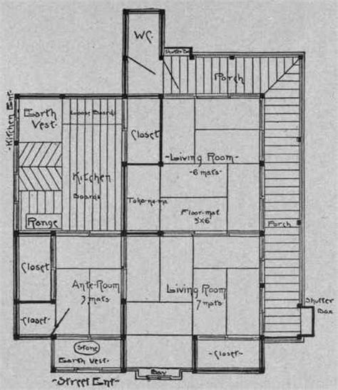 Traditional Japanese House Floor Plans | traditional japanese home plans find house plans