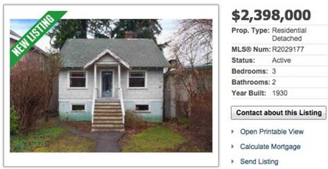 the vancouver teardown shack just sold for 2 5