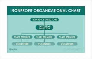 non profit organizational chart 7 samples examples format